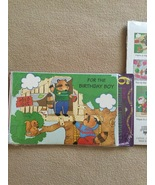 New Vintage Six Pack Children's Birthday Cards Rare Enfield Stationers  - $5.00