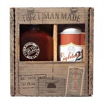18.21 Man Man Made Sweet Tobacco 3-in-1 Shampoo, Conditioner, Body Wash (18oz) &