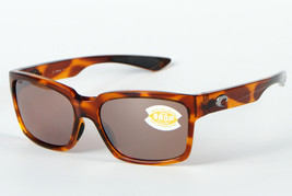 Costa del Mar Playa Sunglasses PY 51 OSCP - Honey Tortoise/Silver Mirror... - $131.71