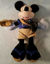 "Disneyland Character Plush Mickey Mouse 50th Anniversary 12"" - $12.86"