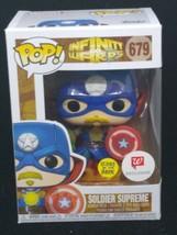 Funko Pop! Soldier Supreme #679 Marvel Glow In The Dark Walgreens Exclusive - $9.90