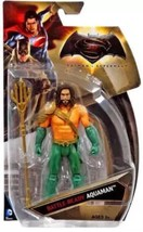 "DC Comics Batman V Superman Battle Ready Aquaman 6"" Action Figure New - $9.99"