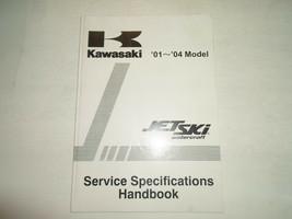 2001 2004 Kawasaki Jet Ski Watercraft Service Specifications Handbook Manual FEO - $19.78