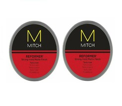Paul Mitchell Mitch Reformer Strong Hold Matte Finish Texture 3oz (pack ... - $34.64
