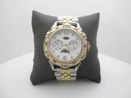 Vintage 1995 Guess Moon Phase Day/Month Water Resistant Analog Dial Watc... - $69.25