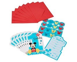 amscan American Greetings 5795233 Mickey's 1st Birthday Postcard Invitations, 8  - $5.89