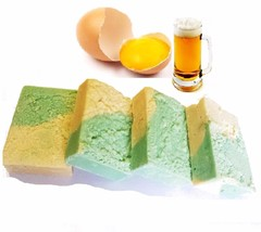 Homemade Beer & Egg Conditioning Bubbly Shampoo Bar With Argan Oil - 2 Bar - $9.50