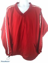 Easton Mens 2XL Red Long Sleeve Athletic Pullover  - $18.69