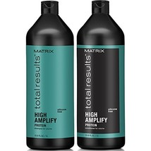 Matrix Total Results High Amplify Volume Shampoo and Conditioner, 1 Liter each - $37.53