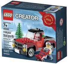 LEGO 40083 2013 Christmas Tree Truck Scene Holiday [New] Building Set - $47.98