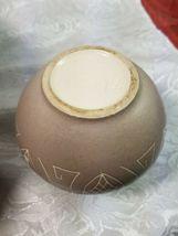 Ethnic Design Cream & Brown Pottery Vase  image 5