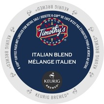 Timothy's Italian Blend Coffee, 48 count Keurig K cups, FREE SHIPPING  - $66.99