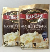Lot of 2 Idahoan Original Mashed Potatoes * Larger 6.4 Ounce Each * - $16.78