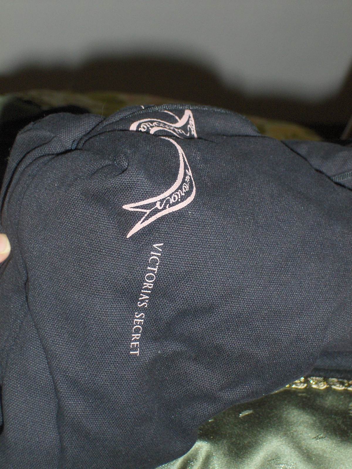 Victoria's Secret Black Friday Tote Bag Shopper Handbag Satchel Purse Overnight