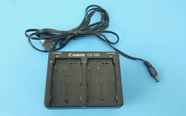 Canon CG-560 Wall plug Battery Charger *no power supply - $12.17