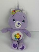 """2007 Harmony Bear Care Bear 8"""" w/ headband new with tags dazzle bright  - $15.83"""