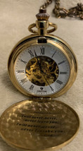 CROTON POCKET WATCH with CHAIN - $89.99