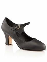 Capezio Women's Manhattan Character Shoe, (11 Wide|Black) - $99.67