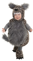 Plush Gray Fur Wolf Costume by Underwraps™Infant/Toddlers - $44.95