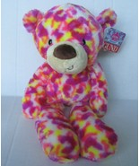 GUND Janeice Take Along Buddy Plush Teddy Bear Stuffed Animal Toy Pink P... - $26.99