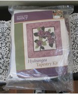 Sewing With Nancy Hydrangea Tapestry Kit 2004 NEW - $39.59