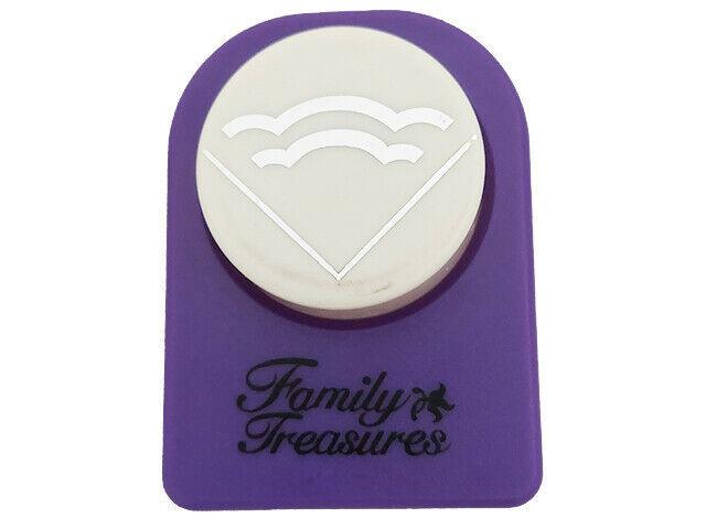 Family Treasures Decorative Scallop Corner Punch