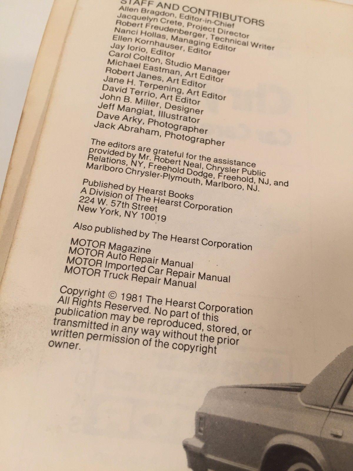 Chrysler magazine user manuals 2017 chrysler pacifica touring l array 1981 popular mechanics chrysler plymouth and 50 similar items rh bonanza com fandeluxe Gallery