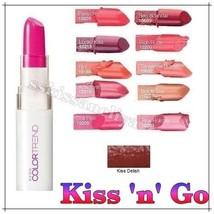 Avon Colour Trend Lipstick 3.6g - Color Trend / Color Trend Kiss 'n' Go - $6.45
