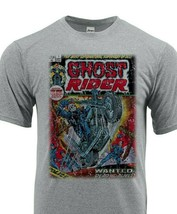 Ghost Rider Dri Fit graphic Tshirt moisture wicking superhero comic book SPF tee image 1