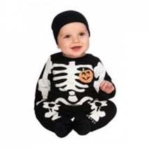 Baby's Black Skeleton Halloween Costume  Size 0-6 Months - $21.00