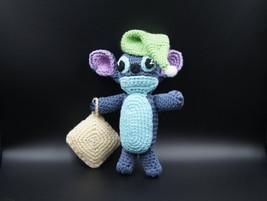 Handmade stitch toy crochet stitch doll handmade stuff toy doll Lilo and... - $15.90