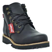 Levis Compass Leather Men's Boots Black 516992-01a - $99.95