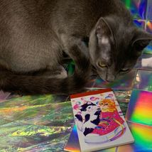 $22UPS1Day/$6USPS LISA FRANK Easter Puzzle Sealed stickers Rollouts Stamp Kitty image 7