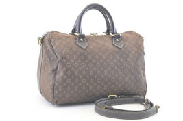 LOUIS VUITTON Monogram Iidir Speedy Bandouliere 30 Hand Bag Huzan M56702 2649 - $273.78