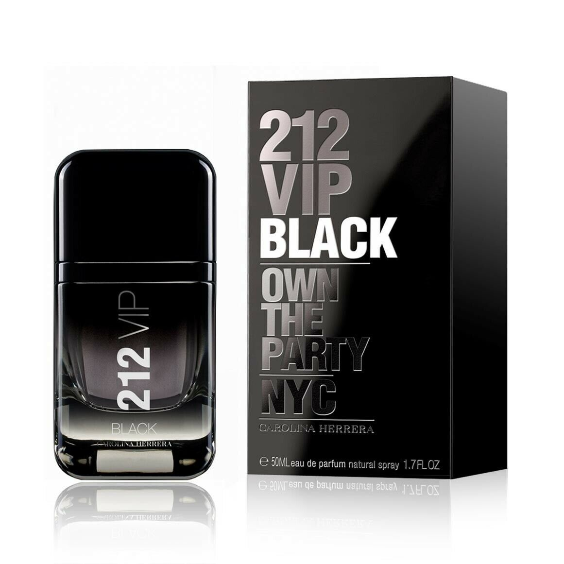 212 Vip Negro por Carolina Herrera (M) Eau de Parfum 50ml Spray - $54.03