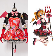 Love Live!Honoka Kosaka SR Cosplay Costume Outfit Uniform Devil Suit Par... - $85.00+