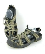 Ahnu Mens 11.5 Sport Water Hiking Close Toe Sandals Shoes 1107 Coffee - $24.00