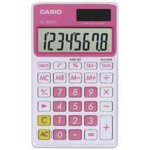 CASIO SL300VCPKSIH Solar Wallet Calculator with 8-Digit Display (Pink) - €20,92 EUR