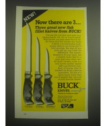 1984 Buck Knives: OceanMate, LakeMate and StreamMate Ad - Now there are 3 - $14.99