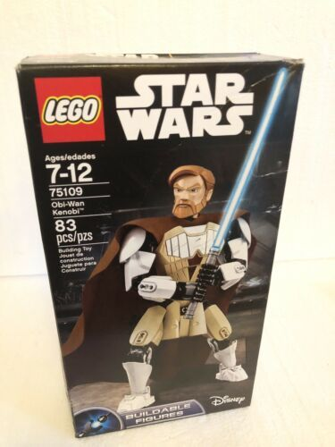 Primary image for Lego Star Wars Obi-Wan Kenobi Buildable Figure 75109 New 83 Pieces *W/ Worn Box