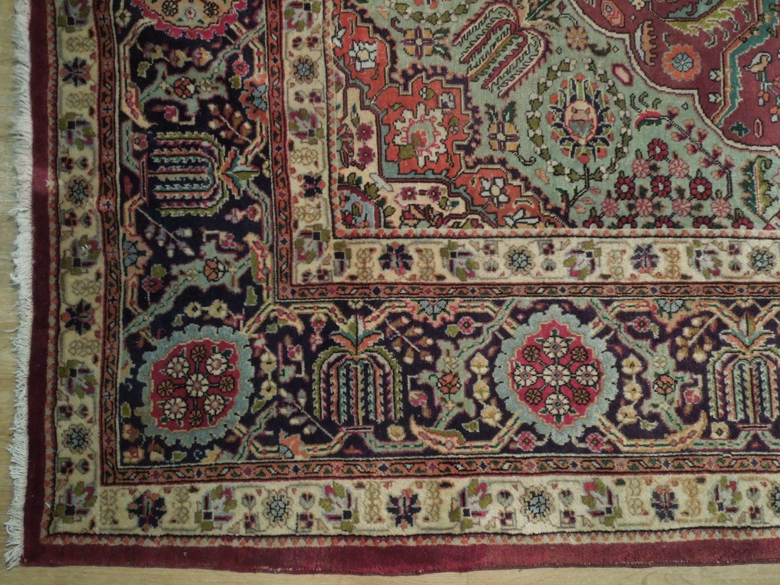 Compex Design Original Red Traditional Persian Wool Handmade Rug 10x16 Rug image 7