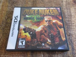 Duke Nukem: Critical Mass (Nintendo DS, 2011) Video Game Complete Working - €29,72 EUR