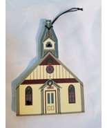 Cat's Meow Christ Church Limited Edition Ornament - $4.21