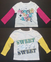 Old Navy Infant Toddler Girls Long Sleeve Shirts 2 Choices 12-18M or 18-... - $7.14