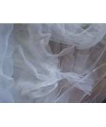 Mosquito Fly Net 4 Corner Bed Canopy XL 6' X 7' Netting Bedding For Camp... - $24.99