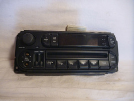 02-06 Dodge Caravan Wrangler Liberty Radio Cd Face Plate P05091556AH ha30 - $12.47