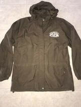 OVERSEAS ADVENTURERS CLUB ~ Sir Edmund Hillary Team Jacket EUC Hideaway ... - $29.44