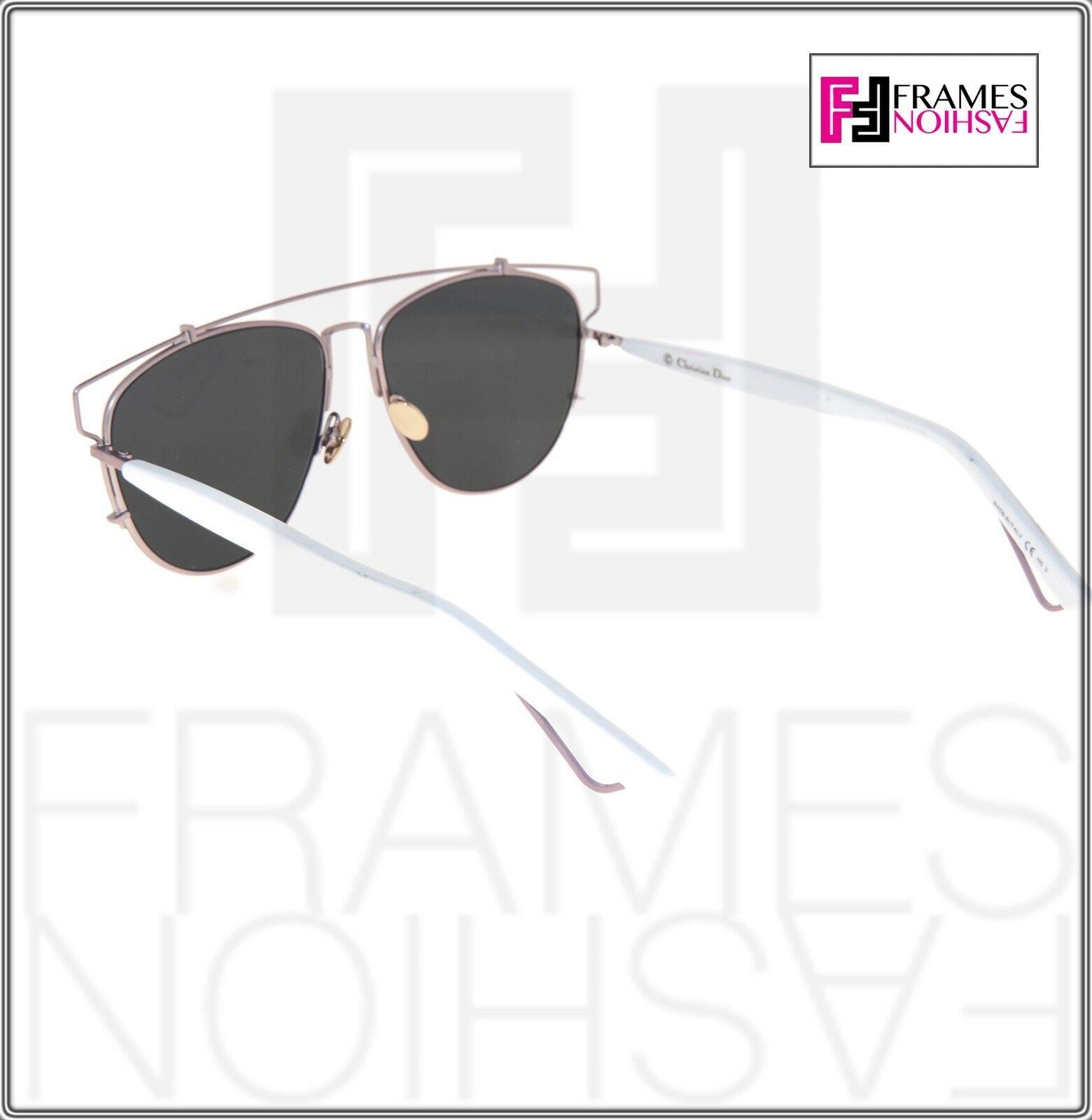 CHRISTIAN DIOR TECHNOLOGIC White Lilac Flash Mirrored Sunglasses DIORTECHNOLOGIC image 3