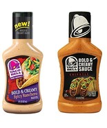 Kraft Taco Bell Bold & Creamy Spicy Ranchero & Chipotle Sauce Bundle - $12.38