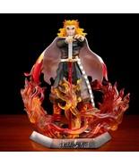 Demon Slayer Rengoku Kyoujurou Anime Figure 20cm PVC Model Toy New - $58.59